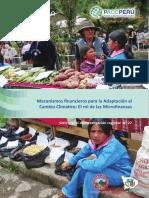 Mecanismos Financieros Para La Adaptación Al Cambio Climático