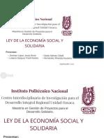 Exposición Ley Economia Social y Solidaria
