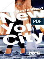 NYC Offical Visitor Guide Fall 2016