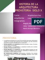 Arquitectura Prehistoria-siglo x