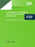 Finnegan y Serulnikov (2015) - Enseñanza y Aprendizaje en PCyOb