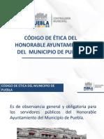 Código de Ética Taller Final Ayuntamiento de Puebla