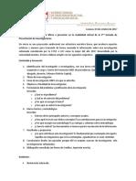 Micro Para La Jornada de Presentación de Investigaciones 2017
