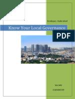 Local Government Kondapur Hyderabad