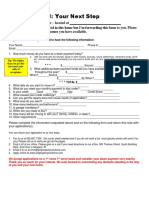 Your Next Step CPS PDF