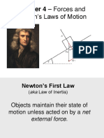 Chapter 4 Forces and Newtons Laws