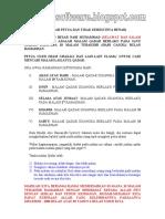 Petua Cara Mencari Malam Lailatul Qadar
