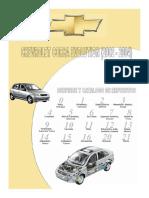 127042590 Chevrolet Corsa Evolution 2002 2004 Manual de Despiece y Catalogo de Repuestos