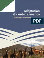 Adaptacion Al Cambio Clim Tico