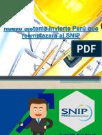 Nuevo Sistema Invierte Perú Que Reemplazara Al SNIP