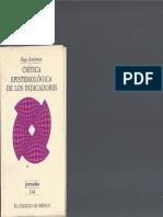 Critica Epistemologica de Los Indicadores - Hugo Zemelman