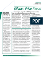 Oil Gram Price Report
