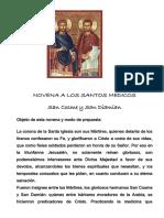 Novena Santos Medicos