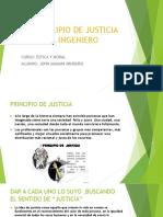 El Principio de Justicia Del Ingeniero