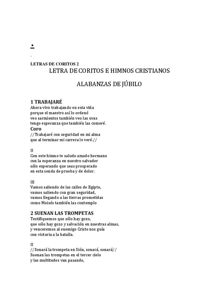 Letras De Coritos 2docx