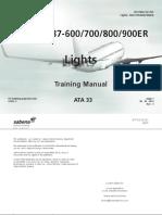 B737- 800  Lights