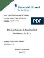 La Lengua Del Rock - TP Terminado