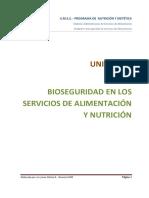 Unidad IV Bioseguridad