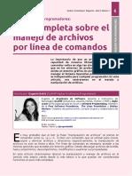 Manejo de Archivos Por Línea de Comandos (Muy Completo)
