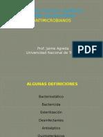 CLASE 5 - AGENTES FISICOS Y QUIMICOS SOBRE LAS BACTERIAS.pptx