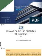 Dinámica de La Cuentas de Ingreso