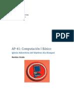 AP - 41 - Computacion I - Basico- BLOG