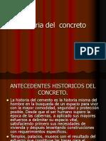 Historia del  concreto.ppt