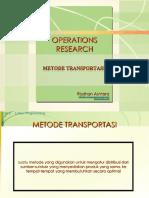 risetoperasi-6-metode-transportasi.ppt