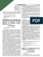 Reglamento de La Ley 30045