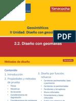 2.2 Diseño Con Geomallas