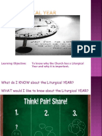The Liturgical Year PowerPoint