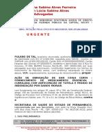 Petição 1 - Inicial - Fornecimento de Medicação