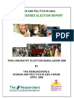 Bangladesh Election Report