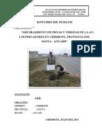 ESTUDIO de MECÁNICA de SUELOS Los Pescadores Con Geomalla (Reparado)2