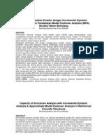 Analisis Kapasitas Struktur Bambang Budiono2 Abstrak