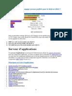 Prise Note Java EE