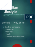 Christian Lifestyle PPT