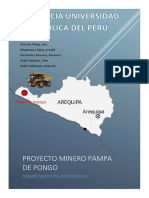 Proyecto Minero Pampa de Pongo