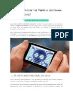 Cómo Eliminar Un Virus o Malware de Tu Android