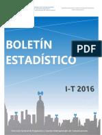 Boletín I 2016