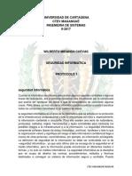 PROTOCOLO 1 Seguridad Informatica