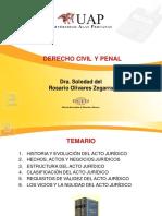 CLASE 2 Estructura Clasificación y Requisitos Segunda Clase de Dercho Civil y Penal