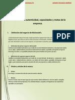 PROCESO ESTRATEGICO MCDONALDS