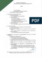 Lineamientos Operativos Prospera 2015