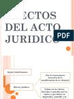 EFECTOS JURIDICOS