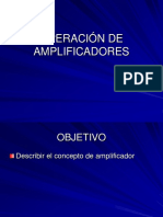 1.1 Operación de Amplificadores