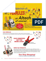 Cable Ferrules - Bootlace Type - RS Technical Library
