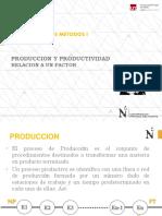 Clase_02_Metodos_I_productividad en Relacion a Un Factor