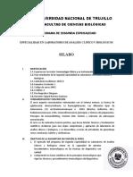 Syllabus Inmunología 2015-II