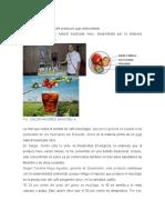 Con Desperdicios Del Café Producen Jugo Antioxidante en Antioquia